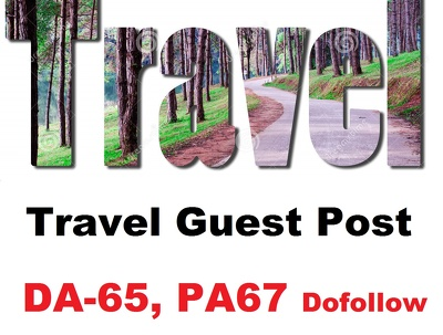 Guest Post on travel or tourism site DA 65 PA67 dofollow