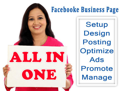 Facebook busines page full design, setup, optimize, promote and management