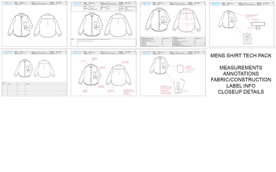 create a Garment Technical Pack