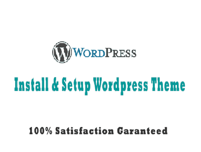 Install wordpress and setup theme like demo in your host