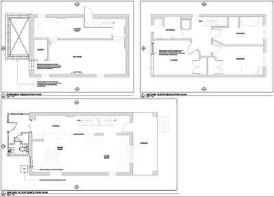 Prepare full architectural drawing packages for all stages in Revit or Autocad