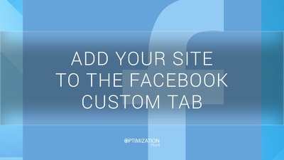 Add your site to Facebook Custom tab