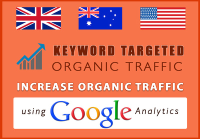 Provide unlimited Keyword Targeted Organic Traffic with Low Bounce Rate