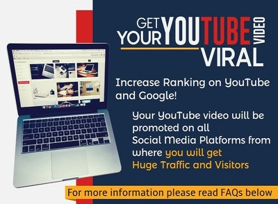 Add 3000+ youtube views to increase your SEO and Sales