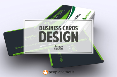 Design attractive Business card within 24 hours