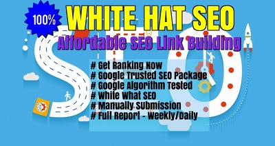 100% Affordable White Hat SEO - Google Safe SEO Link Build Service USA - 2017