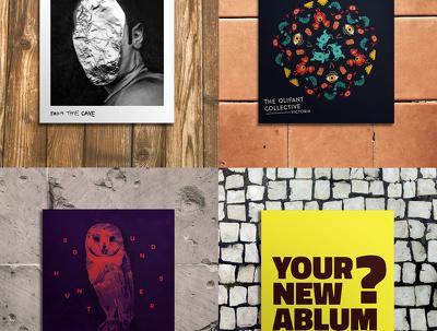 Design bespoke album cover artwork