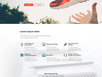 Create 5-page website for your start-up