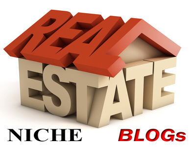 "Write and Publish 5 ""REAL ESTATE"" Niche PBN Blogs"