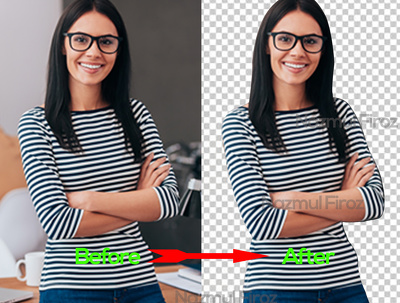 Background Remove 10 / Color Change 10 / Any Part Removed 3 (Dependent on work)
