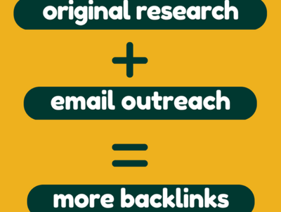 Write an Original Research Article Plus Email Outreach to Influencers