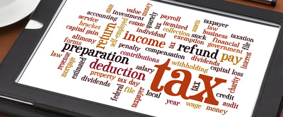 Prepare taxation income