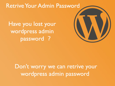 Retrive your Wordpress admin password