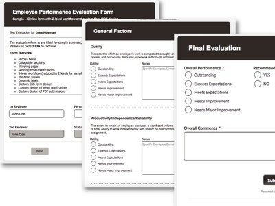 Convert your PDF/Word/Paper Form to a Professional Online Form