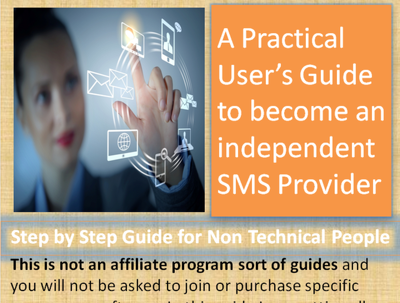 Send you my Ebook How to Start Your Own Business as SMS Service provider