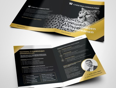 Design a professional and print ready brochure