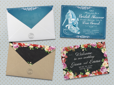Design BEAUTIFUL personalized invitations in 24hours