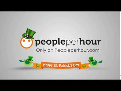 Create a greeting video for st.patrick's day with your logo