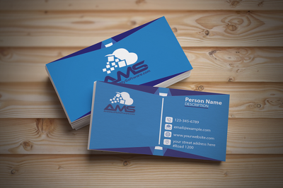 Design a unique and quality business card for your company with source file