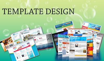 Webdesign Home page / Landing page + Responsive Html + online setup