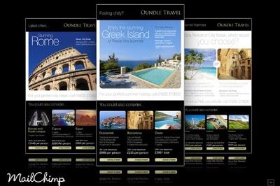 Design RESPONSIVE mailchimp newsletter
