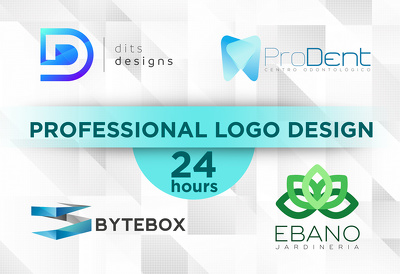 Design a professional logo in just 24 hours