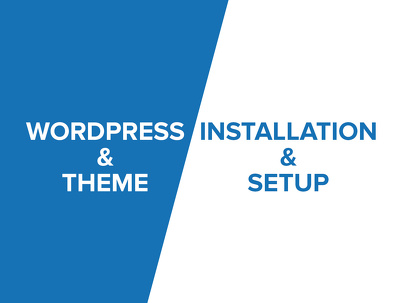 Setup Wordpress Installation, initial Theme Customization ++Plugins, SEO & Backups