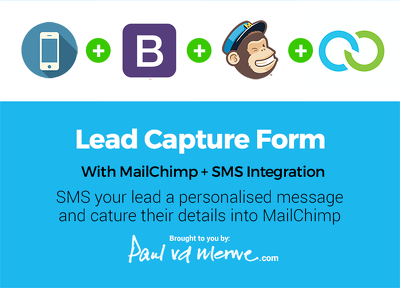 Set up a Lead Capture Form with SMS notification