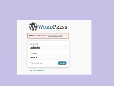 Reset your lost WordPress admin username and password