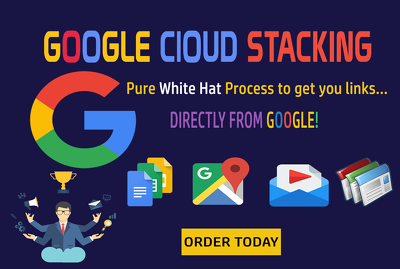 Local SEO Rank You Local Business With Google Clouds Stacking Da 100 Backlinks