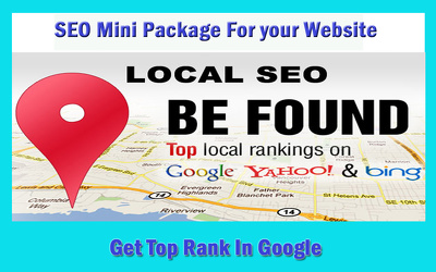 Search Engine Optimization (SEO) Mini Package according to 2017 Google Algorithm