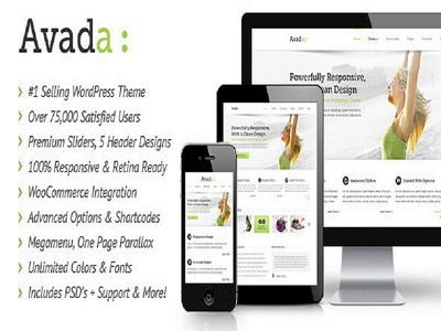 Customize Avada Theme and create a Attractive  website