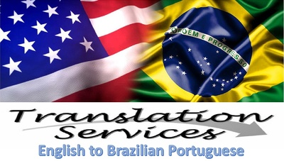 Provide professional English to Brazilian Portuguese translation of 500 words for $25
