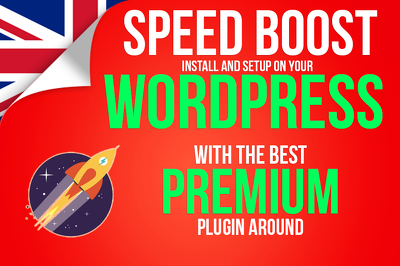 Speed Up and Boost your Wordpress site with the number 1 Premium Plugin available