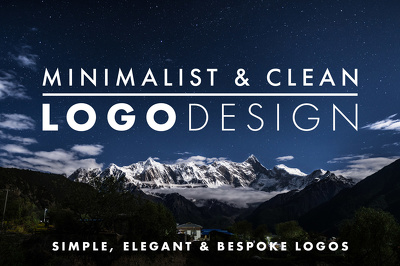 Design a professional, minimalist and clean logo for your personal brand or business
