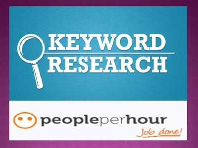 Provide a keyword research report