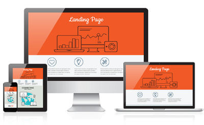 Design awesome landing page or squeeze page.