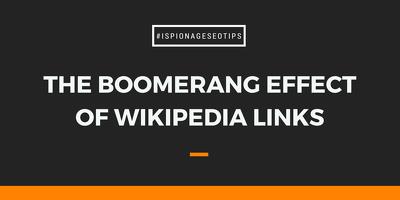 Create heavy Powerful Wikipedia Backlink