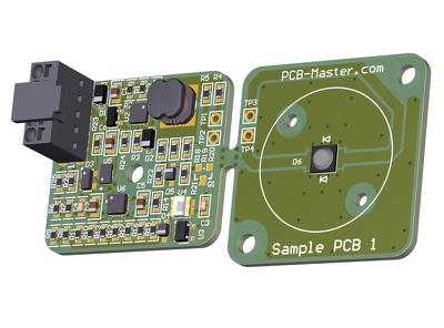 Design your PCB layout using Altium or Eagle