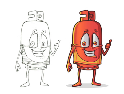 Create an original and professional Vector Mascot for your business