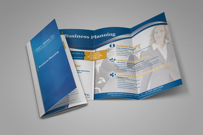 Make your Creative Trifold Brochurs In very short time with unlimited Revision.