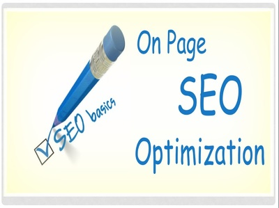 Do On page SEO optimization