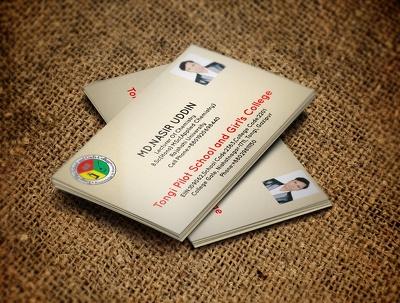 Design unique business card for you company