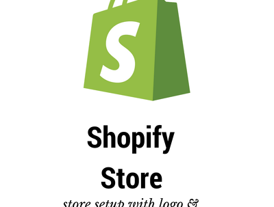Create your Shopify store including a logo and banner/slider