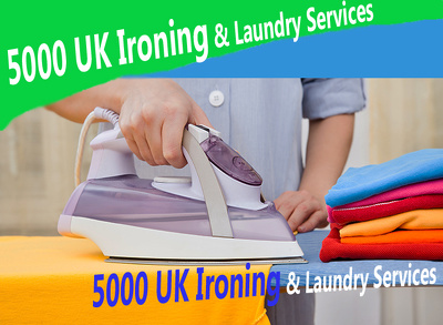 Create for you 5000 uk Ironing & Laundry Services contact and emailing database
