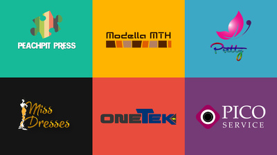 Design creative logo + Unlimeted revisions + source files + high quality