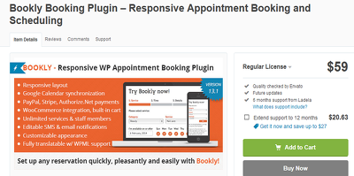Setup, customize Bookly WordPress Appointment Booking Plugin
