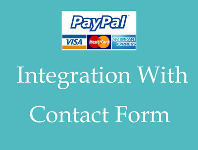 PayPal Integration Contact Form