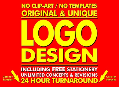 Unlimited Logo Concepts + Free Stationery + Favicon + Unlimited Logo Revisions