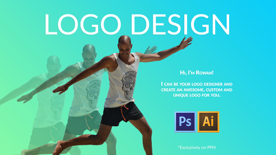 Design a custom professional and unique minimalistic logo